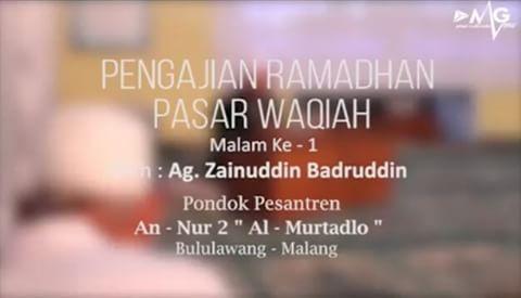 Pasar Waqiah Malam ke-8
